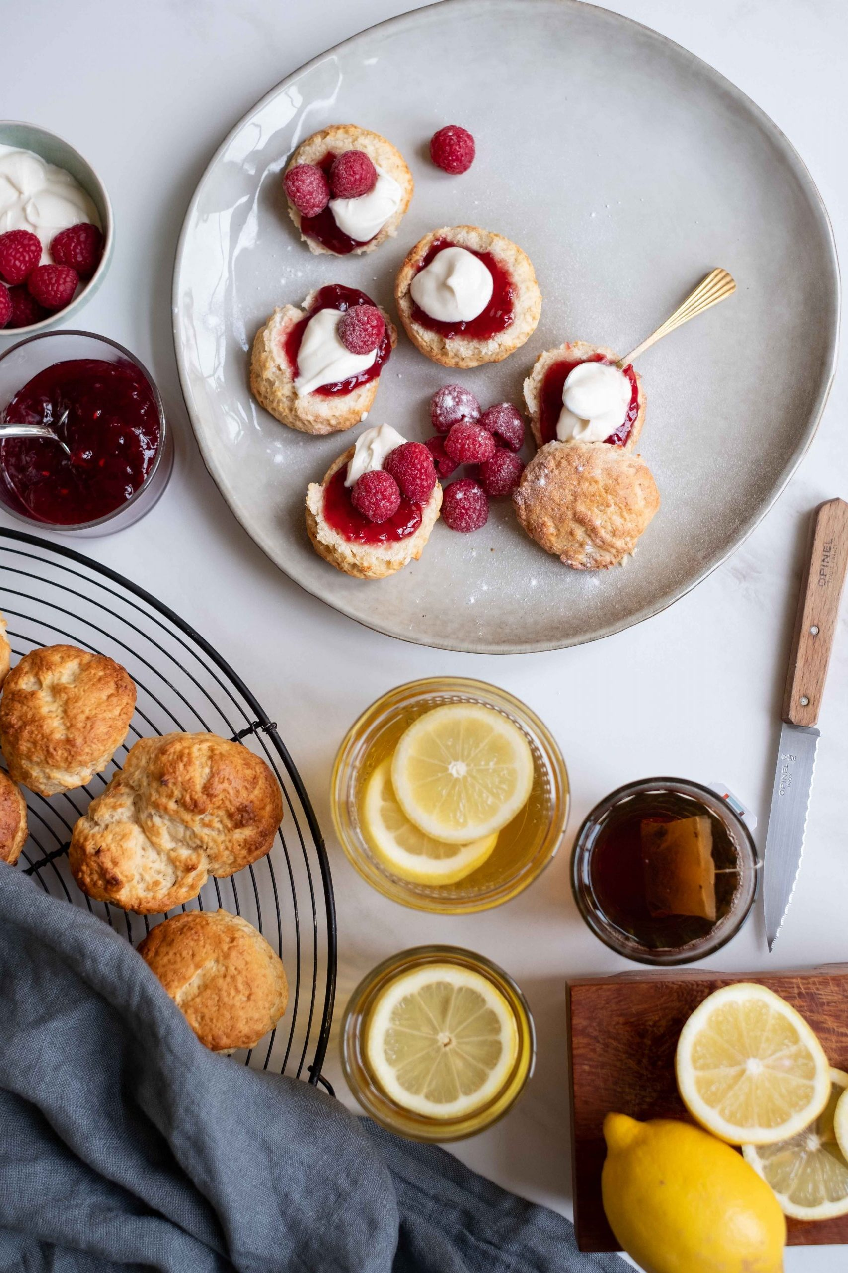 foodfotografie en styling scones